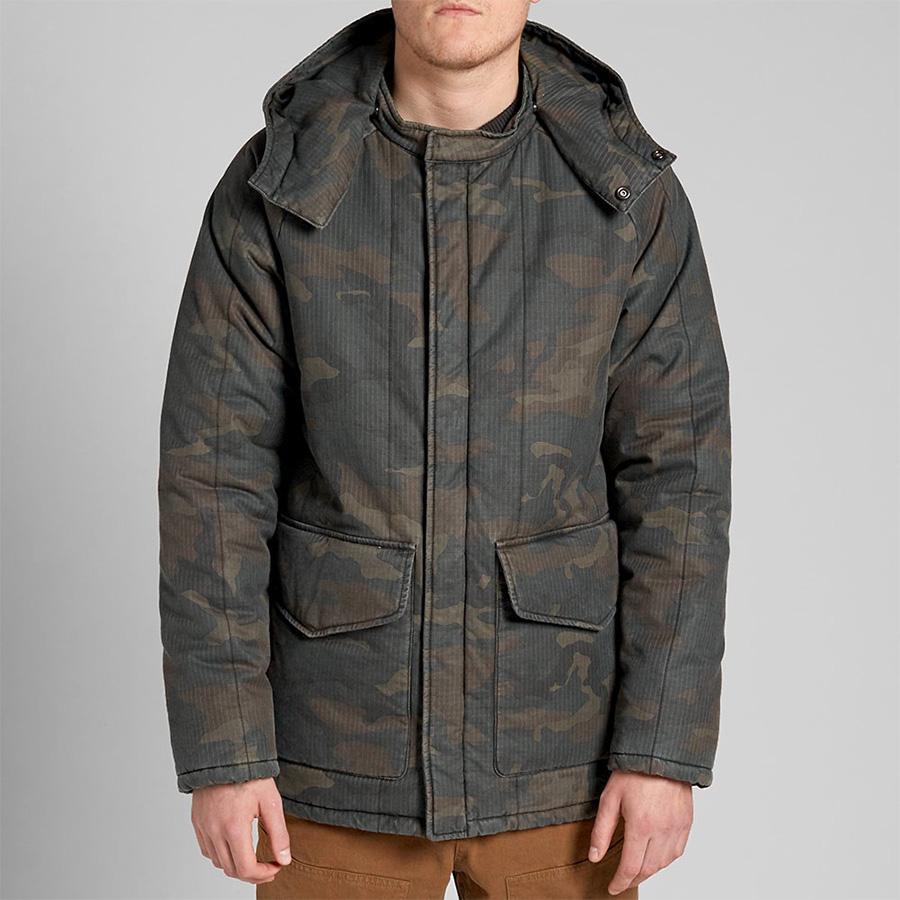 Yeezy Season 1 Quilted Camo Jacket